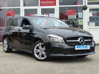 USED 2016 65 MERCEDES-BENZ A CLASS 1.5 A 180 D SPORT EXECUTIVE 5d 107 BHP STUNNING 1 OWNER, £20 ROAD TAX, MERCEDES A CLASS A180D SPORT EXECUTIVE. Finished in COSMOS BLACK with contrasting FULL HEATED LEATHER trim. This A class certainly looks smart, with its slim lights and smooth body panels. There's plenty of room in the front and the back which will suit the average family. Features include Full Heated Leather, Sat Nav, DAB radio, Only £20 Road tax, Tinted windows and much more.
