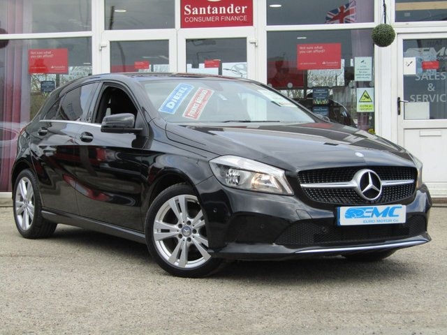 2016 65 MERCEDES-BENZ A CLASS 1.5 A 180 D SPORT EXECUTIVE 5d 107 BHP