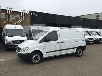 2005 MERCEDES-BENZ VITO 2.1 109CDI COMPACT SWB. ONLY 119K. EXCELLENT CONDITION. PX £2990.00