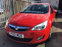 USED 2012 12 VAUXHALL ASTRA 1.4 EXCLUSIV 5d 98 BHP Great family hatchback, great value, superb.