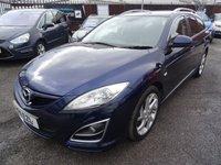 2011 MAZDA 6 2.2 D SPORT 5d 180 BHP £4999.00