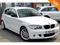 USED 2011 11 BMW 1 SERIES 2.0 116D M SPORT 5d 114 BHP