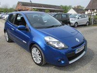 USED 2009 59 RENAULT CLIO 1.1 DYNAMIQUE TCE 3d 100 BHP LOW MILEAGE HIGH SPEC ALLOYS CD AIRCON