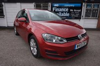 USED 2013 13 VOLKSWAGEN GOLF 1.6 SE TDI BLUEMOTION TECHNOLOGY 5d AUTO 103 BHP FSH-£20 TAX FSH, 2 Owners, £20 Tax, Bluetooth, DAB Radio, Media USB