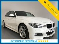 USED 2017 17 BMW 3 SERIES 2.0 330E M SPORT 4d AUTO 181 BHP 1 OWNER - FULL BMW HISTORY - PLUG-IN HYBRID - SAT NAV - LEATHER - PARKING SENSORS - DAB RADIO - PRIVACY
