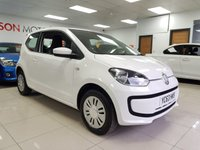 2013 VOLKSWAGEN UP 1.0 MOVE UP 3d+LOW INSURANCE+SERVICE HISTORY+ £3490.00