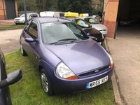 USED 2005 55 FORD KA 1.3 COLLECTION 3d 69 BHP