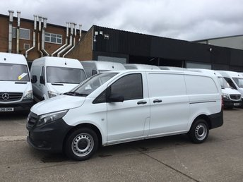 2016 MERCEDES-BENZ VITO 1.6 111CDI LONG 114BHP NEW SHAPE. LOW 23,000 MILES. 1 OWNER £9990.00