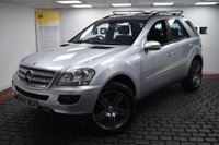 USED 2007 57 MERCEDES-BENZ M CLASS 3.0 ML320 CDI Sport 7G-Tronic 5dr Upgraded Wheels, AMG Sport,FSH