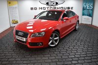 USED 2010 10 AUDI A5 2.0 TDI S line Sportback 5dr 2 Owners, Low Mileage, S Line