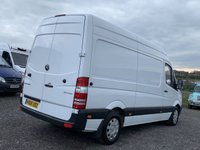 USED 2015 65 MERCEDES-BENZ SPRINTER 2.1 313 CDI MWB AC FACELIFT HIGH ROOF MWB, FACELIFT, AC, ONE OWNER, FDSH, CRUISE, TIDY VAN