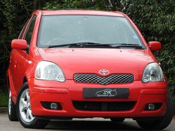2003 TOYOTA YARIS 1.3 T SPIRIT VVT-I 5d AUTO 85 BHP £2950.00