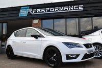 USED 2015 65 SEAT LEON 1.4 TSI FR BLACK TECHNOLOGY 5d 125 BHP