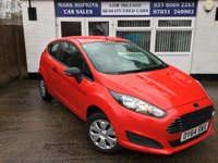 USED 2014 64 FORD FIESTA 1.2 STUDIO 3d 59 BHP 17K FSH 1FAMILY OWNER ULTRA LOW INS ONLY £30/YR TAX HIGH MPG EXC CONDITION