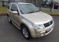 USED 2006 56 SUZUKI GRAND VITARA 1.6 VVT PLUS 3d 105 BHP 3 Months National Warranty - MOT February 2020