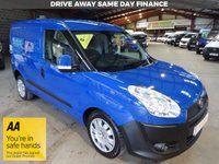 USED 2015 15 FIAT DOBLO 1.2 16V SX MULTIJET  90 BHP L1 VAN - AA DEALER PROMISE - TRADING STANDARDS APPROVED -