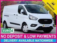 USED 2019 19 FORD TRANSIT CUSTOM 2.0 ECOBLUE EURO 6 TREND LWB 300 L2H1 PANEL VAN DELIVERY MILEAGE EURO 6 LONG WHEEL BASE SAT NAV AIR CON
