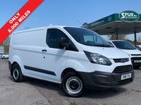 USED 2016 16 FORD TRANSIT CUSTOM 2.2 270 LR P/V 1d 99 BHP Only 8,800 Miles, One Owner, Lovely Low Mileage.