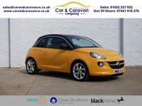 USED 2017 66 VAUXHALL ADAM 1.2 SLAM 3d 69 BHP One Owner Vauxhall History DAB Buy Now, Pay Later Finance!