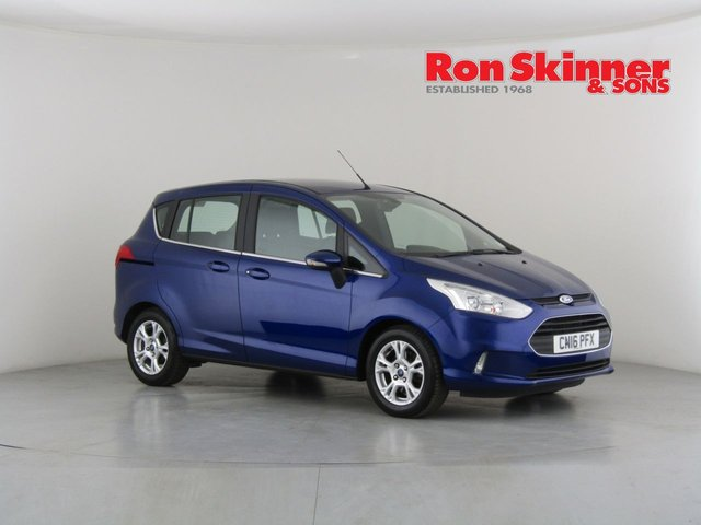 View our 2016 16 FORD B-MAX 1.4 ZETEC 5d 89 BHP