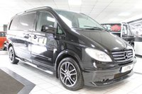 2008 MERCEDES-BENZ VITO 3.0 120 CDI SPORT-X BRABUS AUTO 204 BHP £9950.00