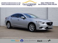 USED 2016 65 MAZDA 6 2.2 D SE-L NAV 4d 148 BHP One Owner All Mazda History Buy Now, Pay Later Finance!