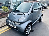 2007 SMART FORTWO 0.7 PASSION SOFTOUCH 2d AUTO 61 BHP £1995.00