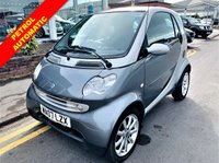 USED 2007 07 SMART FORTWO 0.7 PASSION SOFTOUCH 2d AUTO 61 BHP