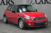 USED 2013 13 MINI HATCH COOPER 1.6 COOPER D 3d 112 BHP luetooth Connectivity, DAB Radio, Air Conditioning, 15 Inch Alloy Wheels, On-board Computer,