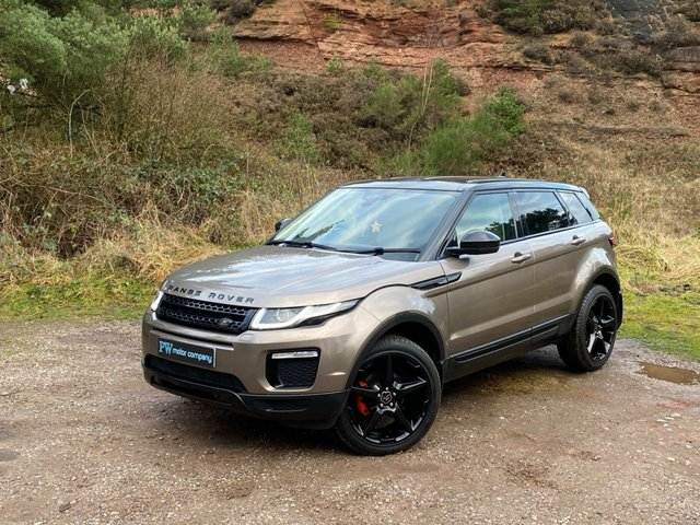 USED 2016 LAND ROVER RANGE ROVER EVOQUE 2.0 ED4 SE TECH 5d 148 BHP OVERFINCH LOOKS LEATHER