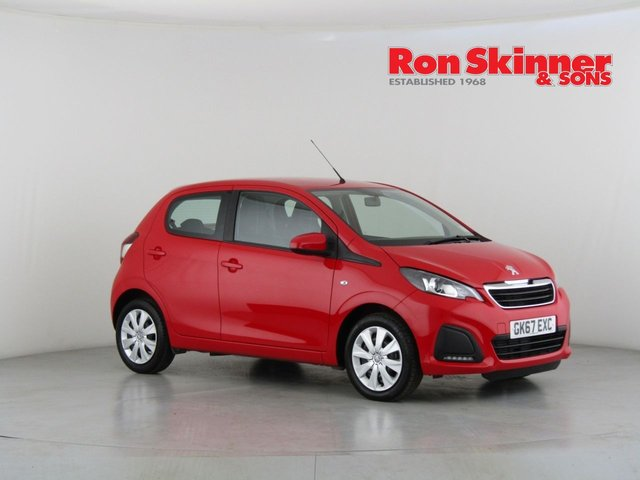 View our 2017 67 PEUGEOT 108 1.0 ACTIVE 5d 68 BHP