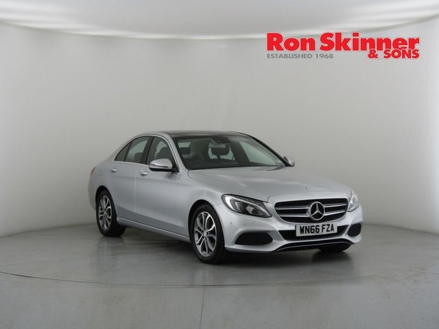 View our 2016 66 MERCEDES-BENZ C-CLASS 2.1 C220 D SPORT PREMIUM PLUS 4d AUTO 170 BHP