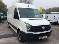 USED 2016 16 VOLKSWAGEN CRAFTER LWB 2.0 CR35 TDI H/R 135 BHP 1 OWNER FSH NEW MOT AIR CON FREE 6 MONTH AA WARRANTY INCLUDING RECOVERY AND ASSIST NEW MOT AIR CONDITIONING EURO 5 SPARE KEY ELECTRIC WINDOWS AND MIRRORS 6 SPEED BLUETOOTH CRUISE CONTROL