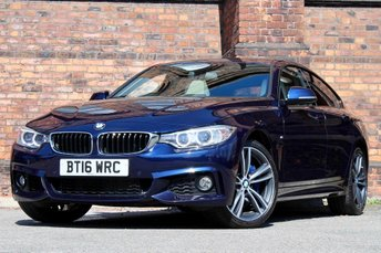 2016 BMW 4 SERIES 3.0 435d M Sport Gran Coupe Sport Auto xDrive (s/s) 5dr £26777.00