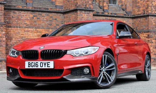 2016 16 BMW 4 SERIES 3.0 430D XDRIVE M SPORT 2d AUTO 255 BHP