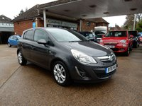 USED 2011 61 VAUXHALL CORSA 1.4 SXI AC 5d 98 BHP JUST HAD SERVICE AND CLUTCH,TWO KEYS,AIR CON,AUX PORT,