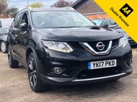 USED 2017 17 NISSAN X-TRAIL 1.6 DCI TEKNA 5dr 130 BHP Full Nissan History, Leather, Pan Roof, 360 Camera.