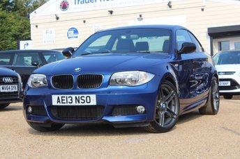 2013 BMW 1 SERIES 2.0 118D SPORT PLUS EDITION 2d 141 BHP