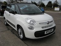 2013 FIAT 500L 1.2 MULTIJET POP STAR 5d 85 BHP £5695.00
