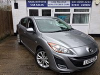 USED 2010 10 MAZDA 3 1.6 SPORT 5d 105 BHP 57K 2LADY OWNERS IMPRESSIVE HIGH SPEC MODEL  EXC CONDITION