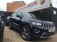USED 2016 16 JEEP GRAND CHEROKEE 3.0 V6 CRD OVERLAND 5d AUTO 247 BHP