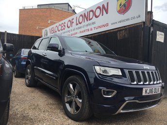 2016 JEEP GRAND CHEROKEE 3.0 V6 CRD OVERLAND 5d AUTO 247 BHP £SOLD
