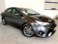 USED 2015 65 TOYOTA AVENSIS 1.6 D-4D BUSINESS EDITION 4d 110 BHP