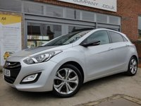 USED 2013 55 HYUNDAI I30 1.6 SE PANORAMA 5d 118 BHP VERY NICE SPECIFICATION WITH FULL SERVICE HISTORY....RARE MODEL