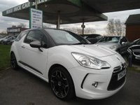 USED 2013 63 CITROEN DS3 1.6 E-HDI DSTYLE PLUS 3d 90 BHP ONE FORMER KEEPER
