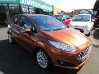 USED 2014 14 FORD FIESTA 1.0 TITANIUM 5d 124 BHP **CALL 01543 379066 FOR MORE INFO**