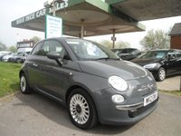 2012 FIAT 500 1.2 LOUNGE 3d 69 BHP SERVICE HISTORY £SOLD