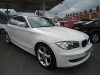 2011 BMW 1 SERIES 2.0 116D SPORT 3d 114 BHP FULL SERVICE HISTORY £5495.00