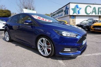 """2015 FORD FOCUS 2.0 T ECOBOOST 250 BHP ST-2 5DR ( 19"""" ALLOYS ) NEW SHAPE £11689.00"""