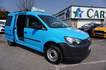 2011 VOLKSWAGEN CADDY MAXI C20 1.6 TDI 102 BHP 6DR ( AIRCON & NO VAT !! ) £7689.00